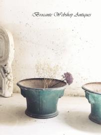 Unique set of chateau jardinières