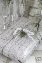 Gift wrapping paper musique Jeanne d`Arc Living