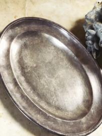 Hotel silver dish