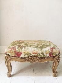 Frans voetenbankje/ French footstool