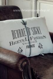 Groot woonkussen Bretel Jeanne d`Arc Living
