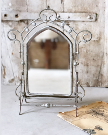 Old french make up mirror
