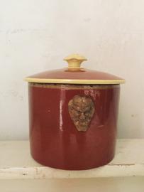 Stylish french paté jar