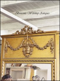 French trumeaux mirror