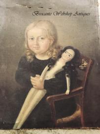 Oud frans kinderportrait