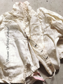 French child blouse