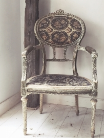 Franse antieke stoel/ French antique chair
