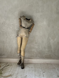 Old etalage mannequin
