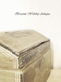 Prachtige franse oude bruidskist
