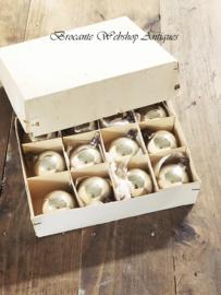 Set of old christmas balls
