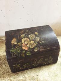 Frans antiek bureau kistje/ Antique french bureau box