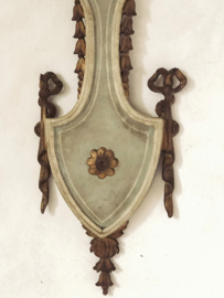 Antiek wand ornament uit Florence