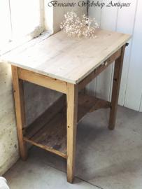 Oude wastafel