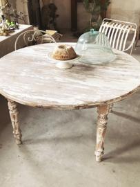 XL ronde franse antieke tafel