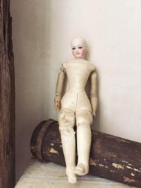 Franse lederen pop/ French leather doll