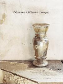 Grote armeluis zilveren vaas