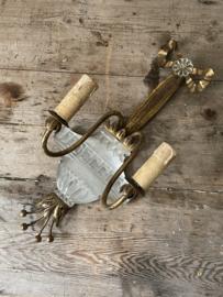 Unieke franse wand chandelier