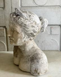 Concrete antique buste