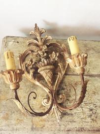 Antieke franse wandapplique