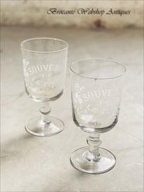 Souvenir de Fête glas  XL size