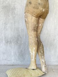 Antique mannequin legs