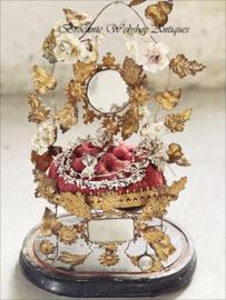 Antieke franse bruidsstoel