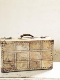 Parchment suitcase