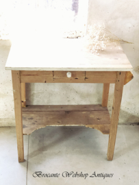 Old washing table