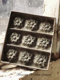 Choco mal  - S size -   bloemen met blaadjes