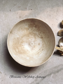 Prachtige oude kom/bowl