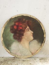 Franse pastel/ French pastel portrait