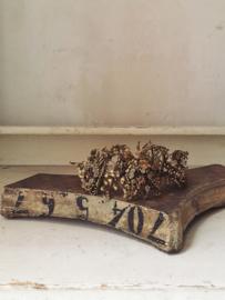 Antiek frans houten ornament/ Antique french wooden ornament