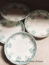 Set of 4 saucers