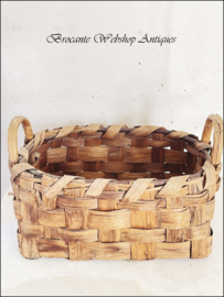 Old french picking basket
