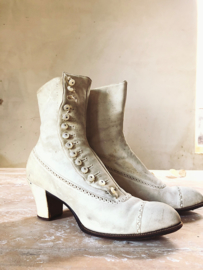 Victorian button boots