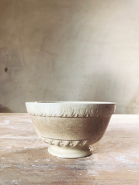 French antique bowl