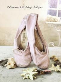 Leren ballet schoentjes