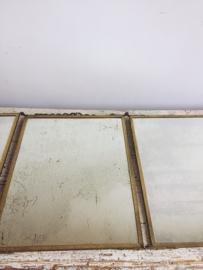 French triptych mirror