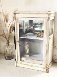 Antique french hat display vitrine/ cabinet