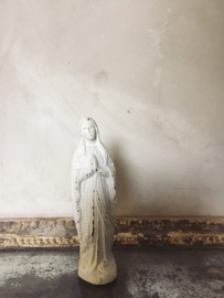 Madonna white patina  Jeanne d`Arc Living