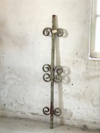 Antique  wrought iron ornament