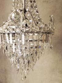 Unieke GROOTSE franse zak kroonluchter chandelier