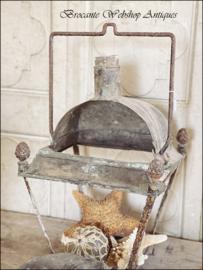 Antieke franse koperen lantaarn XXL