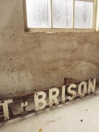 Franse gevel belettering/ French front lettering
