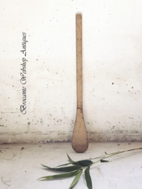 Old wooden ice spoon