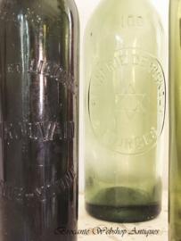 Set oude flessen
