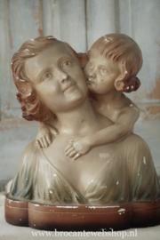 Prachtige franse buste 'Paris' VERKOCHT