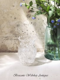 Crystal small size vase