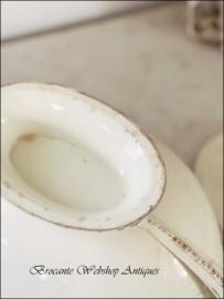 Unieke antieke ovale soupière