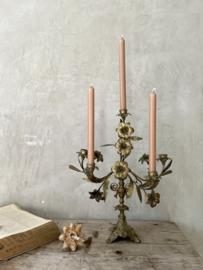 French flower candelabra
